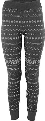 TCM Tchibo Leggings mit Norwegermuster Baumwoll-Mischqualität (36/38 S) (Hosen Leggings Doodle)