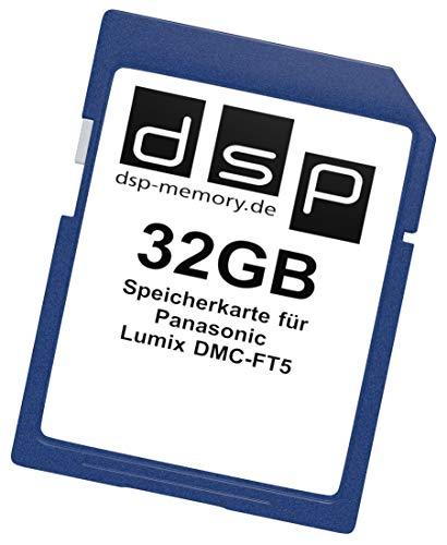 DSP Memory Z-4051557389472 32GB Speicherkarte für Panasonic Lumix DMC-FT5EG-D - 3