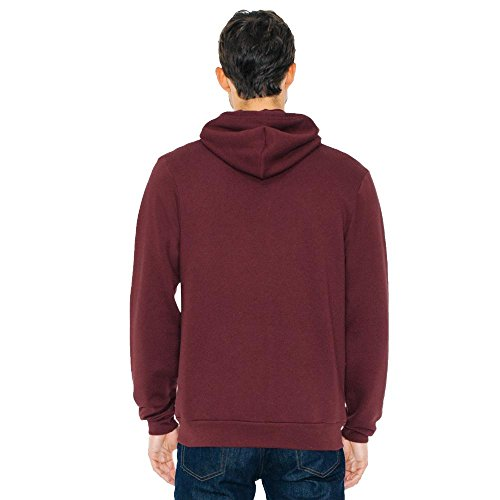 American Apparel - Unisex Flex Fleece Zip Hoodie Brown
