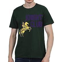 Ruffty Cricket Premier League Tees- Knight Club - Unisex Cotton T Shirt