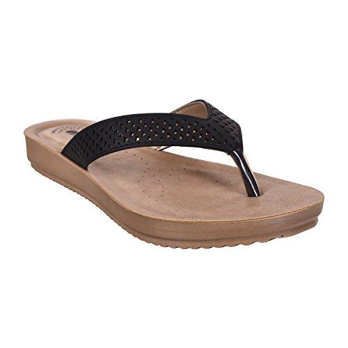 INBLU Black Confort Slippers(bm29black37)