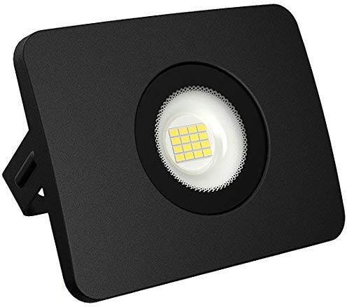 Superslim Projecteur LED extérieur IP65–30 W 2250LM 230 V – Fonte d'Aluminium – 38 mm plat – Blanc Froid (6500 K)