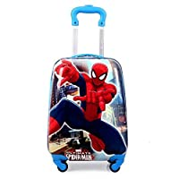 18 Inch Lightweight School Trolley Bag with Spiderman Printed