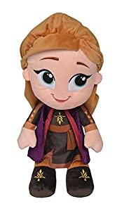 Simba 6315877625 Disney Frozen 2 Chunky Anna - Peluche (43 cm)