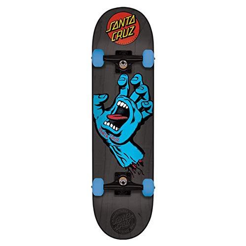 Santa Cruz Complete Screaming Hand Mid, black, 7.2 x 29.9 Zoll, SANDEKSCHAMI