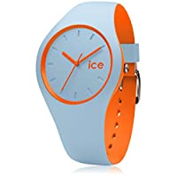 Ice-Watch - ICE duo Orange Sage - Reloj blu para Hombre con Correa de silicona - 001495 (Medium) de ICE-Watch