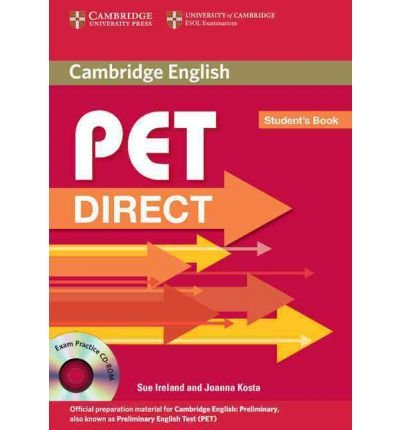 PET Direct Student's Book with Cd-rom (Mixed media product) - Common