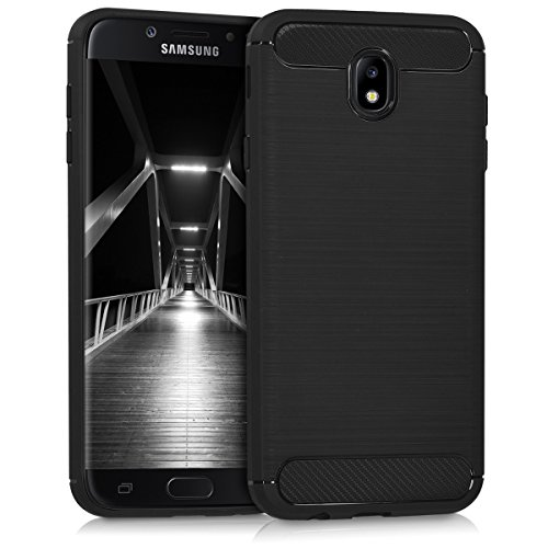 kwmobile Samsung Galaxy J7 (2017) DUOS Hülle - Handyhülle für Samsung Galaxy J7 (2017) DUOS - Handy Case in Schwarz