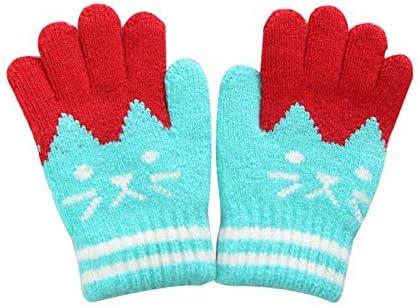 WHFDRHCPST Guanti Touch Screen Kinderen Kitten Uitdrukking Warme Warme Warme Handschoenen Winter Vingers MittenB07MY4JCFTParent | Funzione speciale  | prezzo di vendita  | Commercio All'ingrosso  | elegante  b060e1