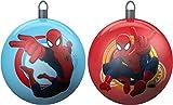 Star Licensing 44090 Set Palline di Natale Spiderman, Multicolore, 10x10x10 cm, 2 unità