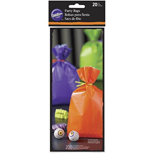 Wilton Halloween Treat Taschen, Mehrfarbig, 20Stück