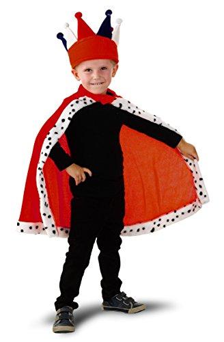 Seiler24 Königlicher Mantel für Kinder im Alter von -