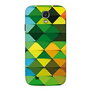 Neo World Colorful Triangle Texture Back Case Cover for Samsung Galaxy S4