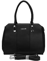 Bee Fashionable Black Shoulder Bag/Handbag For Women/Girls