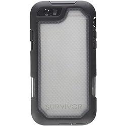 Griffin Survivor Summit Coque pour iPhone 6/6s - Noir/Transparent