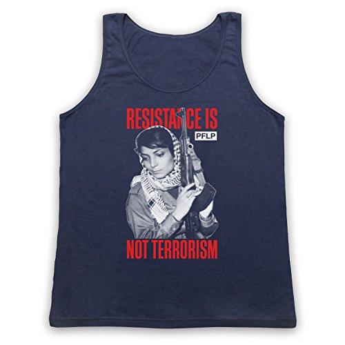 Leila Khaled Resistance Tank-Top Weste Ultramarinblau