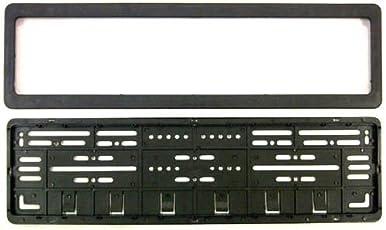 Bigzoom CAR Number Plates Frame - (number plates holders)-For Hyundai Verna Fludic-Front and Back