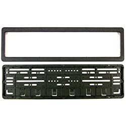 EASY4BUY CAR Number Plates Frame - (number plates holders)-Front and Back for Maruti Suzuki S-Cross
