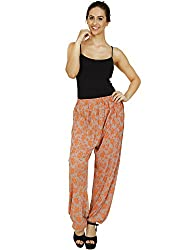 Pietra Beige colored printed Harem Pants