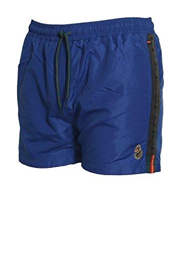 LUKE SPORT Barnsey 2 Men's Gym Shorts | Jet Black Lux Royal