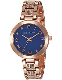 Giordano Analog Blue Dial Women's Watch - A2040-33
