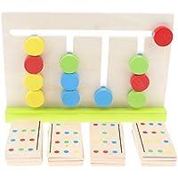 perfeclan Juguete Educativo Infantil Bloque de Bolas de Colores Regalo de Cumpleaños Navidad para Niños