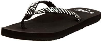 Reef Toddler Little Uptown Girl Flip Flop Zebra R5161ZEB, 5/6 US, 4/5 UK