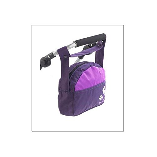 Bayer Chic 2000 853 25 Bolsa para guardar pañales, color morado