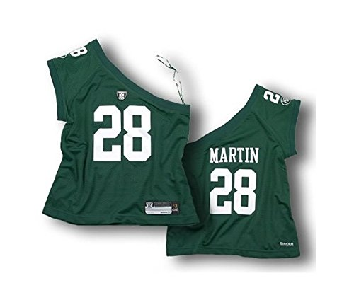 reebok-new-york-jets-curtis-martin-28-pour-femme-nfl-une-epaule-jersey-vert-