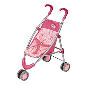 Zapf Creation Poussette Baby Annabell - Rose: Amazon.fr