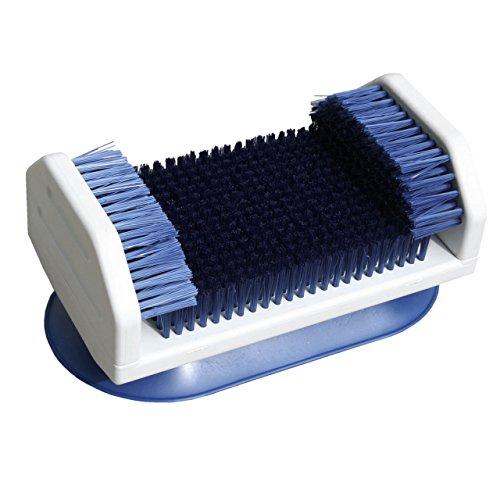 Fuß Reinigungs - Massage Bürste . Fußbürste mit Kunststoff Borsten .