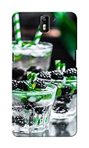 CimaCase Blueberries Designer 3D Printed Case Cover For OnePlus One