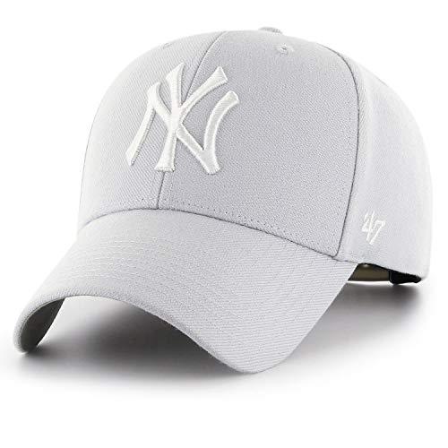 Imagen de  mvp snapback yankees by 47 brand  de beisbol talla única  plata