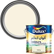 Dulux Colours of the World Matt High Coverage Paint for Walls & Ceilings - Ivory 4 Li
