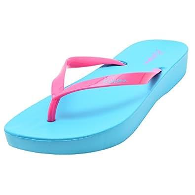 Elle Wings Stylish Rubber Flip Flops For Women