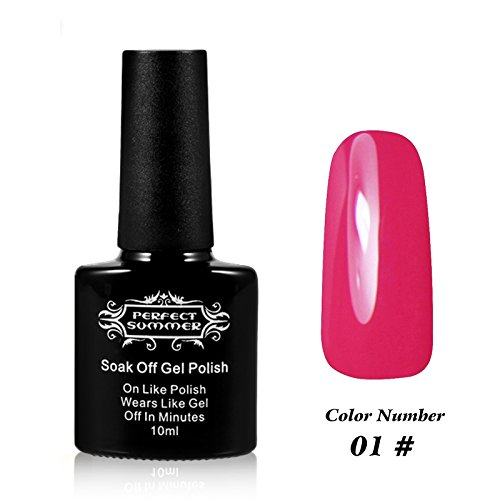 Perfect Summer 10ml Flacon Vernis à Ongles Gel Semi Permanent UV/LED #1