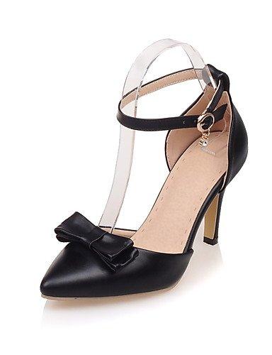 WSS 2016 Chaussures Femme-Bureau & Travail / Habillé / Soirée & Evénement-Noir / Rouge / Blanc-Talon Aiguille-Talons / D'Orsay & Deux Pièces / red-us5 / eu35 / uk3 / cn34