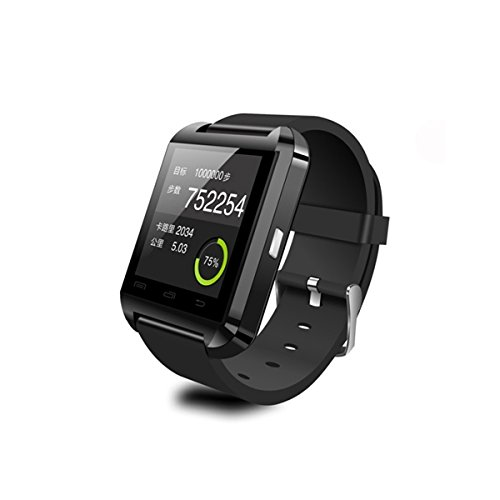 Tiny-Deal-U8-Wearable-145Quot-Touch-Screen-Smart-Bluetooth-Watch-With-Pedometer-Barometer-Altimeter-Stopwatch-Black