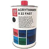 Diluant acrylique rapide pour vernis viernici transparentes et fonds acrylique 1K et 2K carrosserie