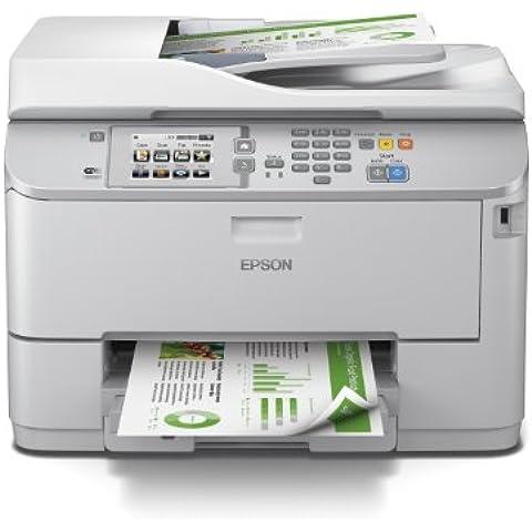 Epson WorkForce Pro WF-5620DWF - Impresora multifunción (Inyección de tinta, 600 x 1200 DPI, 1200 x 2400 DPI, A4, Color, Base plana y