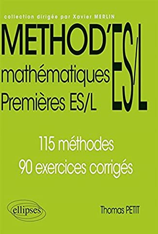 Method Mathematiques - Method'ES/L Mathematiques