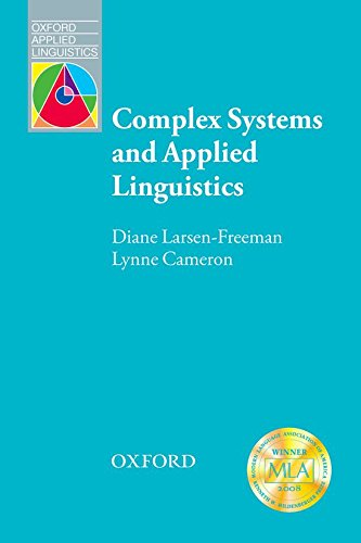 Complex Systems and Applied Linguistics (Oxford Applied Linguistics)