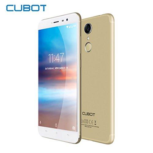 Smartphone Libre - CUBOT NOTE Plus 4G Cámara Teléfono 16.0MP+16.0MP (5.2' IPS...