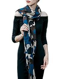 Emorias 1pc Echarpe de Style Camouflage Foulard Décontracté Coupe-Vent  Accessoires Vêtements pour Mode Femme 8f6818f80ea