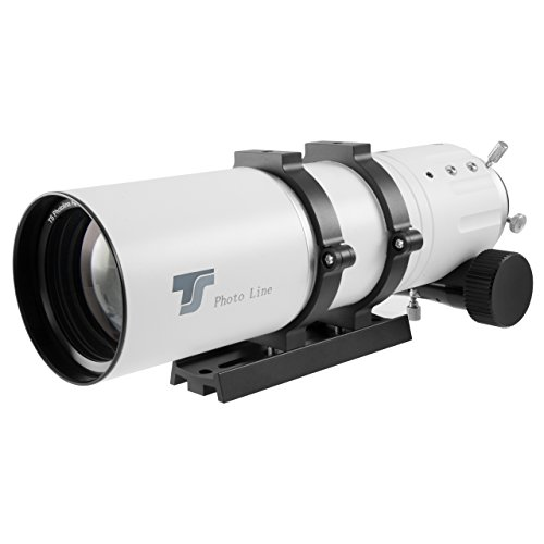 TS-Optics TSApo72f6 kompakter APO farbreiner apochromatischer Refraktor Teleskop Reiseteleskop Photoline 72/432mm f/6 für Beobachtung Astrofotografie (Ccd-kamera-teleskop)
