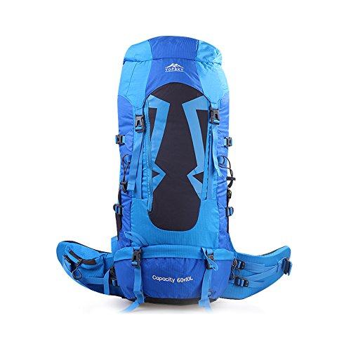 amanti di borsa all'aperto alpinismo/ viaggio trekking zaino/Multi-funzionali Zaini equitazione-giallo blu