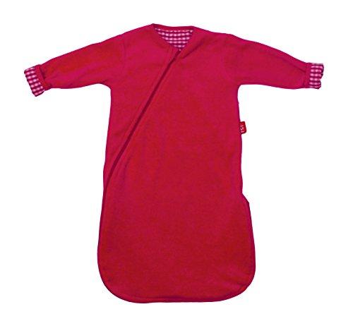 ISI mini 9021030A Schlafsack mit langen Ärmeln, mit Spezial Reißverschluss, Länge 60 cm - Isi Mini