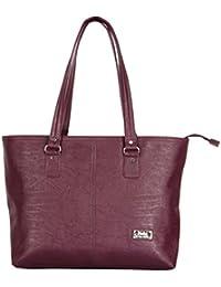 Latest Fashionable PU Leather Fancy Stylish Handbag / Bag / Purse For Women / Girls / Ladies By BALAJI DISHA