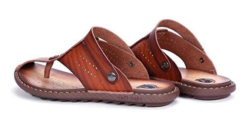 Outdoor Pantoffeln Drachen Sandalen Slippers M盲nner Sommer Sandalen red Cool 2017 Flop SHIXR brown M盲nner Trendy Flip Ultra qOt60wPqxR