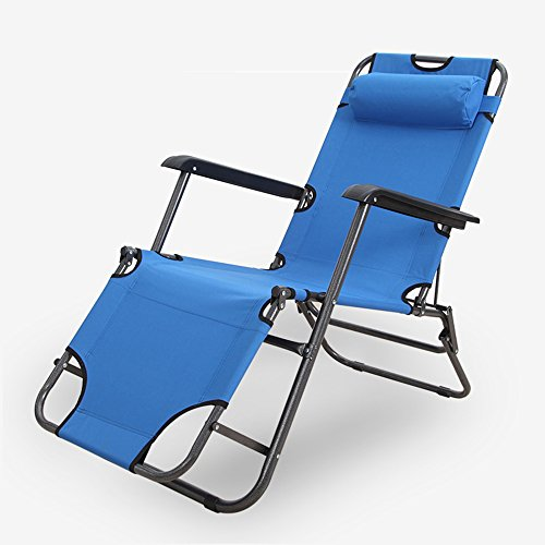 Deckchairs Feifei Home Klappstuhl Strandkorb Lazy Chair Zusammenklappbar (Farbe : A)